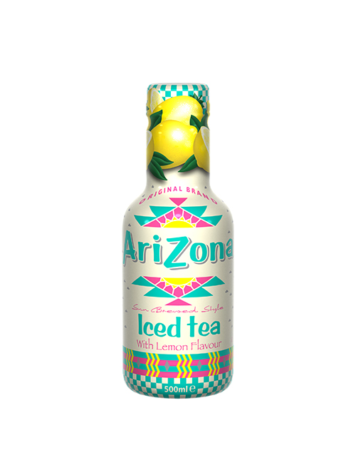 Arizona Iced Tea Lemon Bottles 500ml