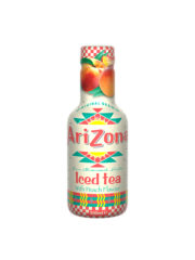 Arizona Iced Tea Peach Plastic Bottles 500ml