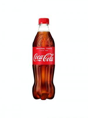 Coca Cola Plastic 500ml