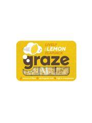 Graze Lively Lemon Flapjack