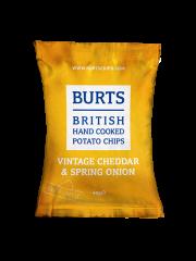 Burts Vintage Cheddar & Spring Onion 40g