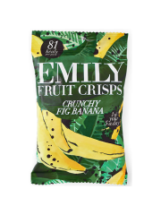 Emily Fruit Crisps Crunchy Fig Banana 15g