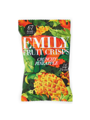 Emily Fruit Crisps Crunchy Pineapple 15g