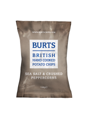 Burts Sea Salt & Crushed Peppercorns 150g