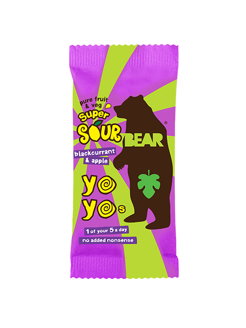 Bear Yoyo Sour Blackcurrant & Apple
