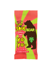 Bear Yoyo Sour Strawberry & Apple