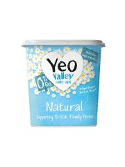 Yeo Valley 0% Fat Natural Yogurt
