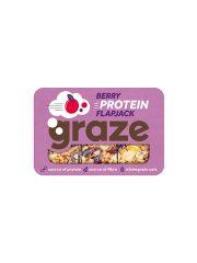 Graze Berry Protein Flapjack