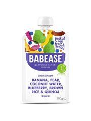 Babease Banana Pear Coconut Water & Quinoa 100g