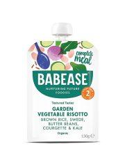 Babease Garden Vegetable Risotto 130g