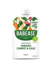 Babease Parsnip Carrot & Kale 100g