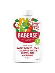 Babease Sweet Potato Pear & Quinoa 100g