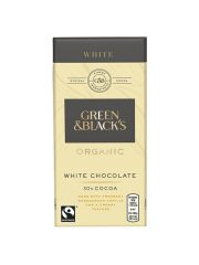 Green & Blacks White 100g