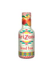 Arizona Iced Tea Peach Plastic Bottles 500ml
