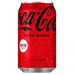 Coca Cola Zero Cans 330ml