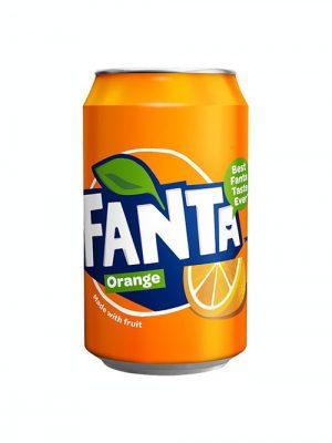 Fanta Orange Cans