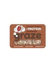 Graze Cocoa Vanilla Protein Flapjack