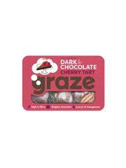 Graze Dark Choc Cherry Tart