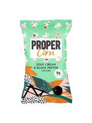 Propercorn Sour Cream Black Pepper