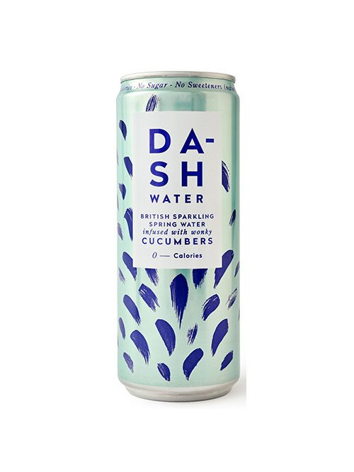 Dash Sparkling Spring Water Cucumbers