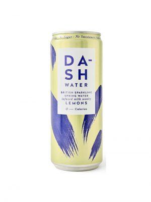 Dash Sparkling Spring Water Lemons