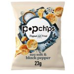 Popchips Sea Salt & Black Pepper 23G