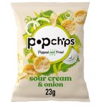 Popchips Sour Cream & Onion 23G