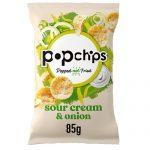 Popchips Sour Cream & Onion 85G