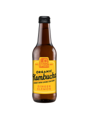 Lo Bros Kombucha Ginger & Lemon 330ml
