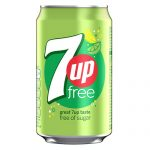 Seven Up Free Cans
